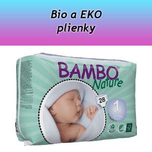Bio a EKO plienky
