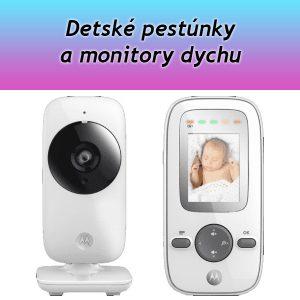 Detské pestúnky a monitory dychu