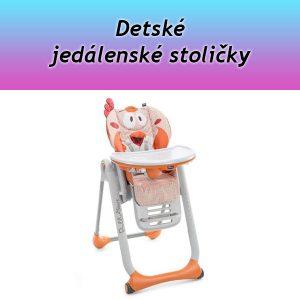Detské jedálenské stoličky